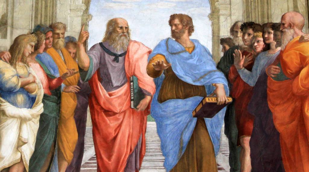 Plato and Aristotle built our culture, partly with stories.