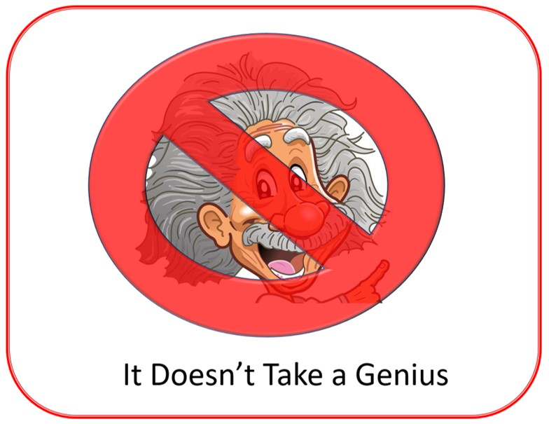 It doesn't take a genius. podcast
